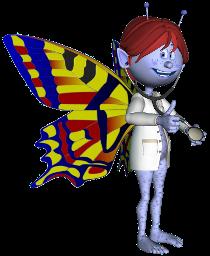 Mascota de l'acnefi vestida de metge